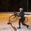 2010-01-13 Cross træning på cykel banen Aarhus